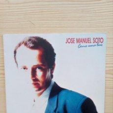 Discos de vinilo: JOSE MANUEL SOTO - COMO UNA LUZ - LP. Lote 122727499