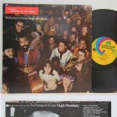 Discos de vinilo: HUGH MASEKELA - THE PROMISE OF A !! LEGEND JAZZ AFRICAN FUSION !! SUPER 1ª EDIC ORG USA, EXC. Lote 122728315
