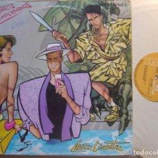 Discos de vinilo: PRESUNTOS IMPLICADOS - SIENTO MIEDO + MISS CIRCUITO - MAXI SINGLE 1984 - RCA. Lote 130799003