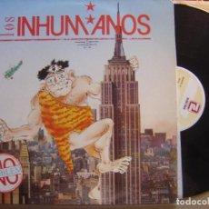 Discos de vinilo: LOS INHUMANOS - NO PROBLEM - LP 1989 - ZAFIRO. Lote 122739247