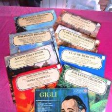 Discos de vinilo: GIGLI GRANDES COMPOSITORES LOTE DE 9 VINILOS CLASICOS LP VINILO. Lote 122750795