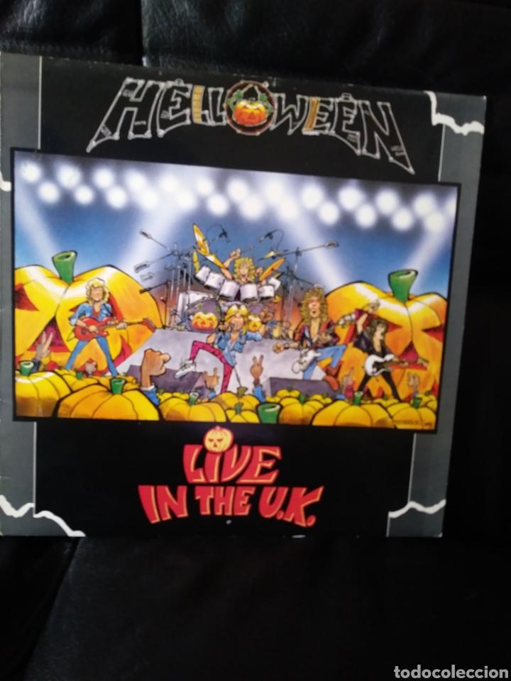HALLOWEEN LIVE IN THE UK EDICION INGLESA 1989 (Música - Discos - LP Vinilo - Heavy - Metal)