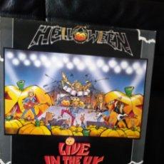 Discos de vinilo: HALLOWEEN LIVE IN THE UK EDICION INGLESA 1989. Lote 122752875