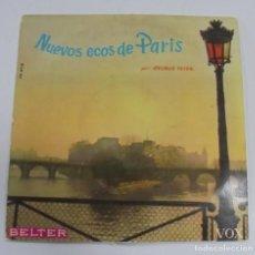 Discos de vinilo: NUEVOS ECOS DE PARIS. GEORGE FEYER. BELTER. 1959. Lote 122761695