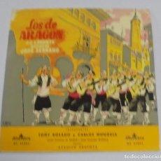 Discos de vinilo: LOS DE ARAGON. J.J.LORENTE. ALHAMBRA.. Lote 122762099