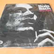 Discos de vinilo: LLUIS LLACH. ARA I AQUI . MOVIE PLAY. 1970. EDICION ORIGINAL CON LIBRETO.. Lote 122769995