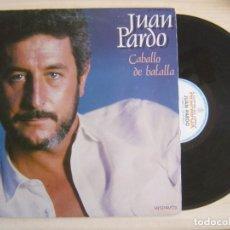Discos de vinilo: JUAN PARDO - CABALLO DE BATALLA - LP DOBLE 1983 - HISPAVOX. Lote 122775627