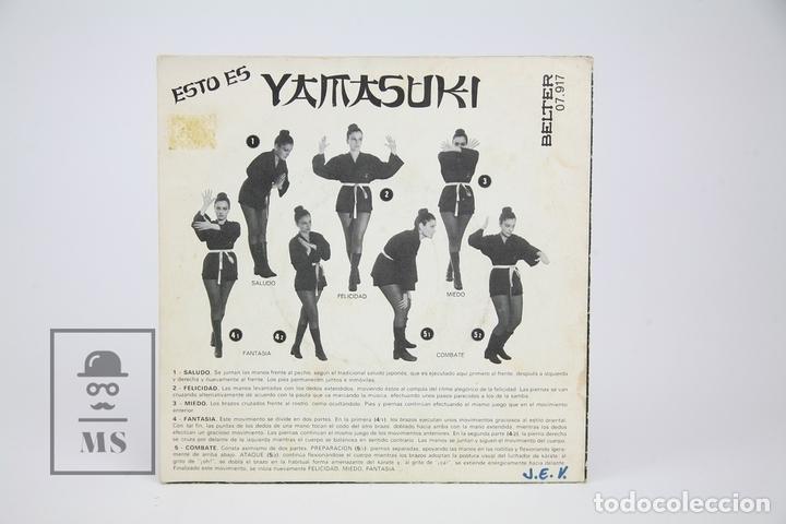 Discos de vinilo: Disco Single De Vinilo - Yamasuki's Y Aieaoa - Belter - Año 1971 - Foto 3 - 122778332