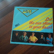 Discos de vinilo: WIND-LET THE SUN SHINE IN YOUR HEART.EUROVISION 87 ALEMANIA .MAXI ESPAÑA. Lote 122780955