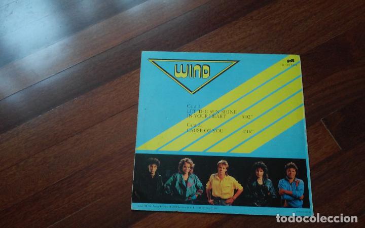 Discos de vinilo: Wind-let the sun shine in your heart.eurovision 87 alemania .maxi españa - Foto 2 - 122780955