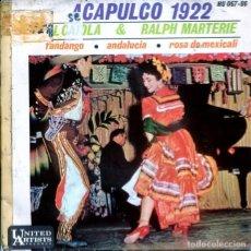 Discos de vinilo - AL CAIOLA & RALPH MARTERIE / ACAPULCO 1922 + 3 (EP 1962) - 122782227