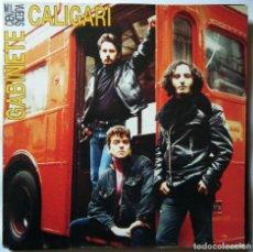 Discos de vinil: GABINETE CALIGARI / CIEN MIL VUELTAS.. Lote 122782239