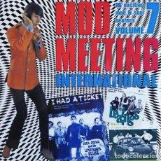 Discos de vinilo: LP MOD MEETING VOL. 7 FREAKBEAT SOUL BEAT MOD VINILO. Lote 137391865