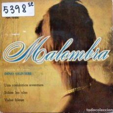 Discos de vinilo: MALOMBRA (ORQUESTA DE CUERDA DINO OLIVIERI) + 3 (EP 1961). Lote 122784123