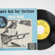 Discos de vinilo: DISCO EP DE VINILO - JOAN BAEZ / THERE BUT FOR FORTUNE - AMADEO - MADE IN FRANCE. Lote 122786527