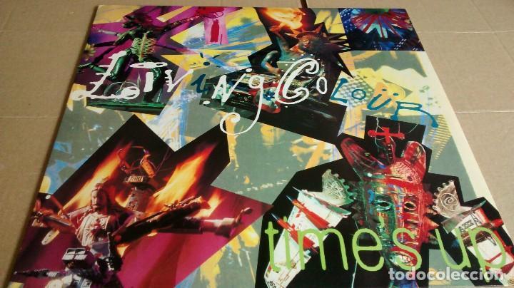 LIVING COLOUR - TIME´S UP - EDICIÓN VINILO AMARILLO (Música - Discos - LP Vinilo - Heavy - Metal)