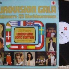 Discos de vinilo: VARIOS - DOBLE LP EUROVISION GALA 29 WINNERS - 1981 - CRUZ ROJA - PORTADA DOBLE - VER ARTISTAS. Lote 122797331