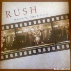 Discos de vinilo: RUSH - MOVING PICTURES: LIVE 2011. Lote 122798347