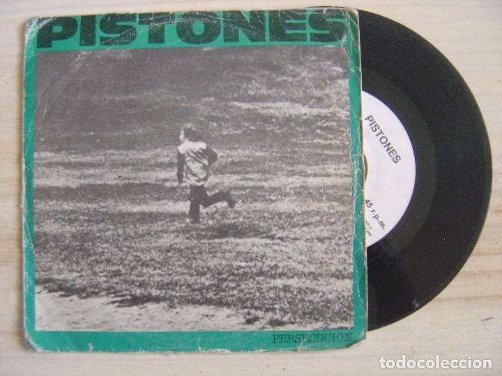 PISTONES - PERSECUCION + GALAXIA - SINGLE PROMOCIONAL 1984 - ARIOLA (Música - Discos - Singles Vinilo - Grupos Españoles de los 70 y 80)