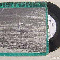 Discos de vinilo: PISTONES - PERSECUCION + GALAXIA - SINGLE PROMOCIONAL 1984 - ARIOLA. Lote 122810387