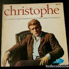 Discos de vinilo: CHRISTOPHE (EP. 1965) LAS MARIONETAS - ME HE MARCHADO - NAVIDAD - YA NO ERES COMO ANTES. Lote 122816695