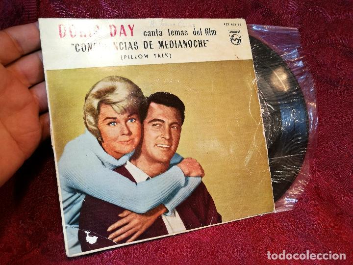 DORIS DAY - B.S.O. CONFIDENCIAS DE MEDIA NOCHE // EP 4 CANCIONES // 1960 // PHILIPS (Música - Discos - Singles Vinilo - Bandas Sonoras y Actores)