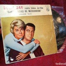 Discos de vinilo: DORIS DAY - B.S.O. CONFIDENCIAS DE MEDIA NOCHE // EP 4 CANCIONES // 1960 // PHILIPS . Lote 165459420