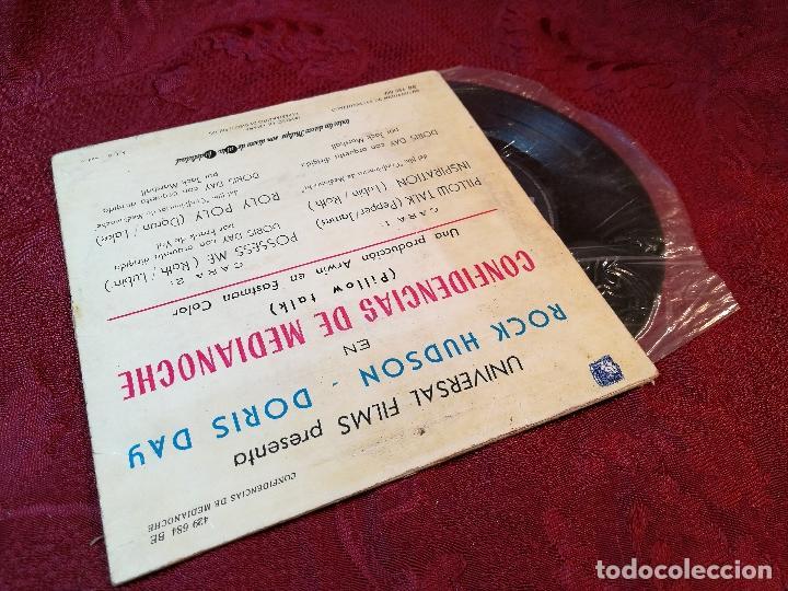 Discos de vinilo: DORIS DAY - B.S.O. CONFIDENCIAS DE MEDIA NOCHE // EP 4 CANCIONES // 1960 // PHILIPS - Foto 2 - 165459420