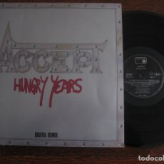 Discos de vinilo: ACCEPT `HUNGRY YEARS` DIGITAL REMIX. Lote 122757567