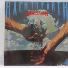 Discos de vinilo: 0440 RARE EARTH - BACK TO EARTH (DE VUELTA A LA TIERRA) - LP 1975. Lote 122823443