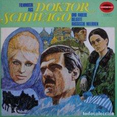Discos de vinilo: DAS CINEMA STAGE ORCHESTRA ?– FILMMUSIK AUS DOKTOR SCHIWAGO UND ANDERE BELIEBTE RUSSISCHE MELODIEN. Lote 122833279
