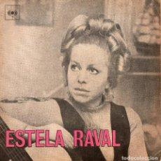 Discos de vinilo: ESTELA RAVAL, EP, SIEMPRE HAY ALGÚN MILAGRO + 3 , AÑO 19?? INDUSTRIA BRASILEIRA. Lote 122843163