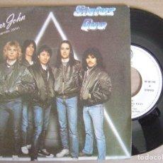 Discos de vinilo: STATUS QUO - QUERIDO JOHN + I WANT THE WORLD TO KNOW - SINGLE 1982 - VERTIGO . Lote 122853839
