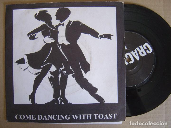 TOAST - COME DANCING WITH TOAST - EP INGLES 1996 - CRACKLE - CON INSERTO (Música - Discos de Vinilo - EPs - Punk - Hard Core)