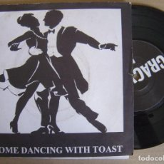 Discos de vinilo: TOAST - COME DANCING WITH TOAST - EP INGLES 1996 - CRACKLE - CON INSERTO. Lote 122872003