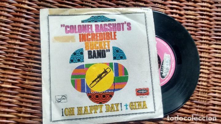 SINGLE (vinilo) DE COLONEL BAGSHOT´S INCREDIBLE BUCKET BAND AÑOS 60, usado segunda mano
