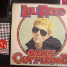 Discos de vinilo - LOU REED- SALLY CAN´T DANCE. LP - 122880423