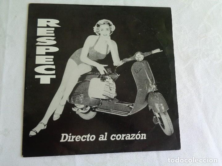 RESPECT SG SOUL POWER CLUB - AUTOEDITADO - DIRECTO AL CORAZON - MOD - FLECHAZOS - VESPA (Música - Discos - Singles Vinilo - Grupos Españoles de los 90 a la actualidad)