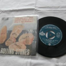 Discos de vinilo: THE ROLLING STONES 7´SG HAVE YOU SEEN YOUR MOTHER, BABY, STANDING IN THE SHADOW ? (1966) ED.OR.ESPAÑ. Lote 122883751