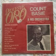 Discos de vinilo: LP COUNT BASIE & HIS ORCHESTRA, THE BEST OF COUNT BASIE. Lote 122896251