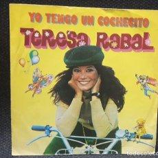 Discos de vinilo: TERESA RABAL - YO TENGO UN COCHECITO - SINGLE - PROMOCIONAL- MOVIEPLAY - 1981 -INFANTIL - INFANTILES. Lote 122900859