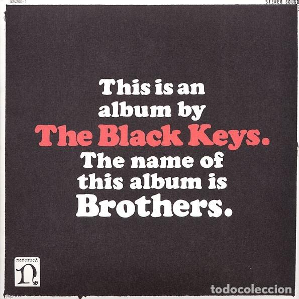 2LP THE BLACK KEYS BROTHERS VINILOS + POSTER+ CD (Música - Discos - LP Vinilo - Pop - Rock Extranjero de los 90 a la actualidad)