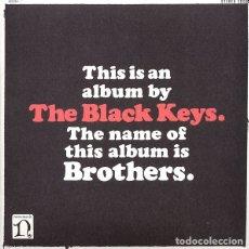 Discos de vinilo: 2LP THE BLACK KEYS BROTHERS VINILOS + POSTER+ CD. Lote 130396918