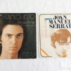 Discos de vinilo: 2 SINGLES AÑOS 70. Lote 122905951