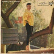 Discos de vinilo: PAT SUZUKI - DE AHORA EN ADELANTE + 3 (EP DE 4 CANCIONES) RCA 1958 - VG+/VG+. Lote 122909171