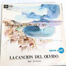 Discos de vinilo: LA CANCION DEL OLVIDO. Lote 122909559