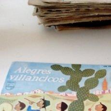 Discos de vinilo: BAL-6 DISCO CHICO 7 PULGADAS ALEGRES VILLANCICOS . Lote 122910623