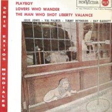 Discos de vinilo: JULIE JONES / VAL PALMER / TIMMY REYNOLS / RAY GARNETT (EP DE 4 CANCIONES) RCA 1962. Lote 122917387