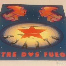 Discos de vinilo: SPARTO - ENTRE DOS FUEGOS LP (HEAVY METAL NAVARRO). Lote 122932299