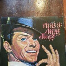Discos de vinilo: FRANK SINATRA. RING-A-DING-DING. LP. HISPAVOX. 1981. Lote 122938906